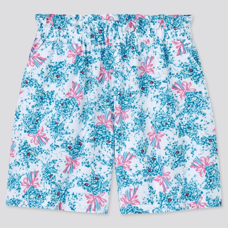 Girls Paul & Joe Shorts, Blue, Large