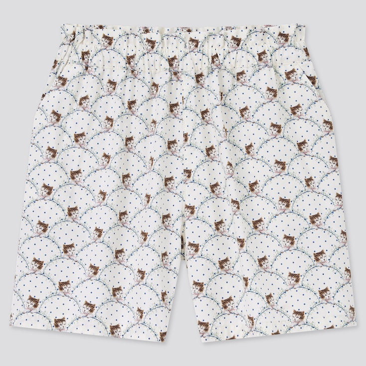 Girls Paul & Joe Shorts, Off White, Large