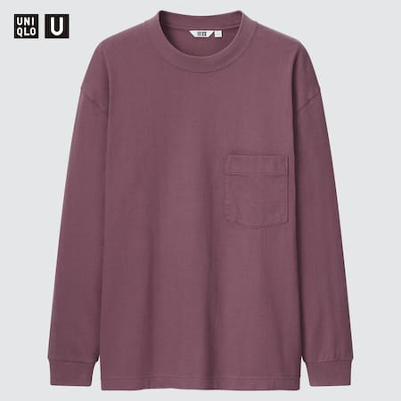 T-Shirt Uniqlo U Manches Longues Homme