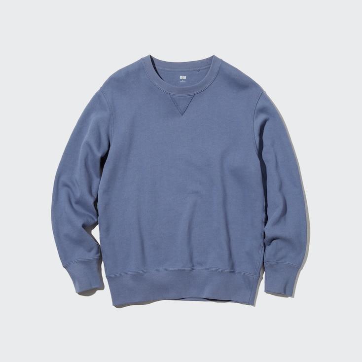 Sweatshirt, Blue, Large