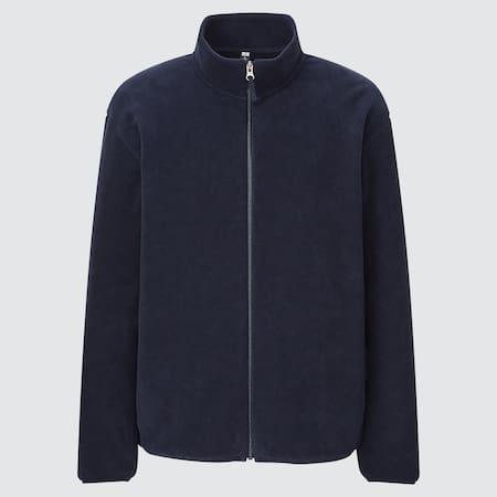 Men Fleece Zipped Jacket