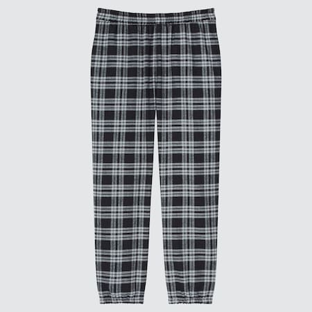 Kids Flannel Relaxed Fit Joggers