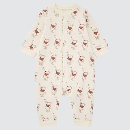 Baby Winnie the Pooh UT Bedruckter gesteppter Strampler