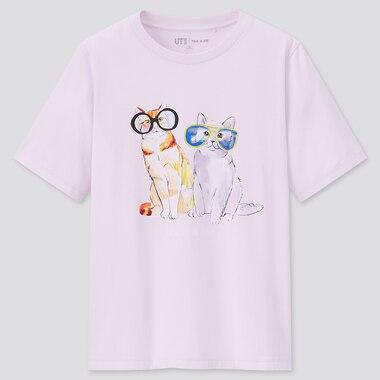 Damen Paul & Joe UT Bedrucktes T-Shirt