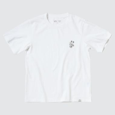Women Peanuts Ut (Short-Sleeve Graphic T-Shirt), White, Medium