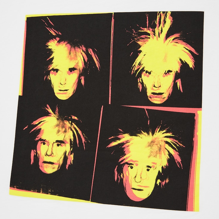 Andy Warhol Ut (Short-Sleeve Graphic T-Shirt), White, Large
