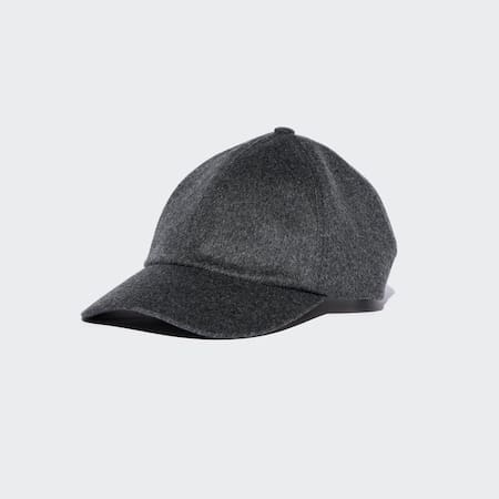 Wool Cashmere Blend Cap