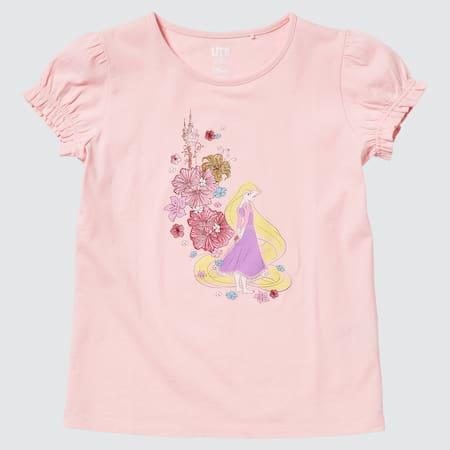 Kinder Disney Heroines Collection UT Bedrucktes T-Shirt