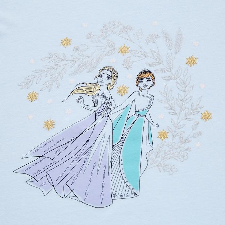 Girls Disney Heroines Ut (Short-Sleeve Graphic T-Shirt) (Online Exclusive), Light Blue, Large