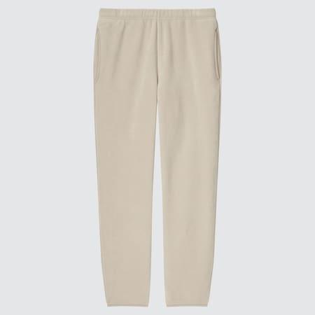 Men Fleece Easy Ankle Length Trousers
