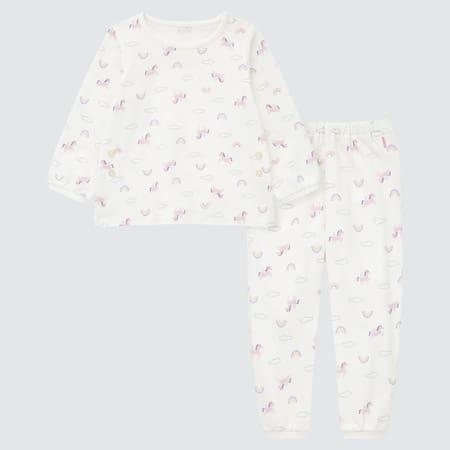 Baby Gemusterter langärmliger Pyjama
