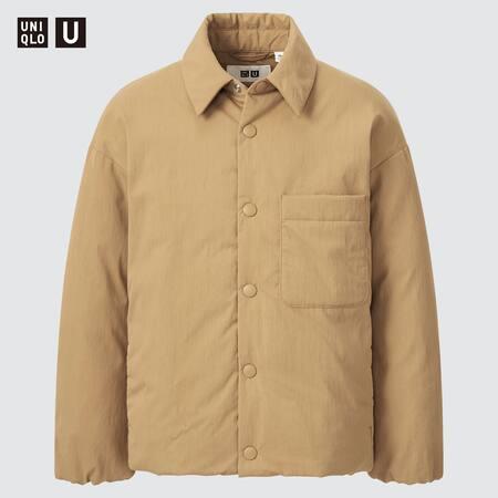 Kids Uniqlo U Padded Shirt Jacket