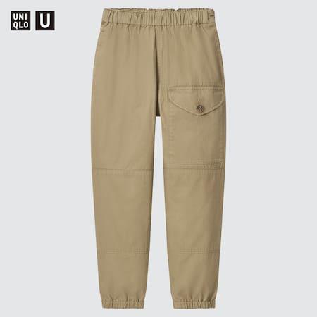Pantaloni Tuta / Joggers Uniqlo U Gamba Larga Bambino