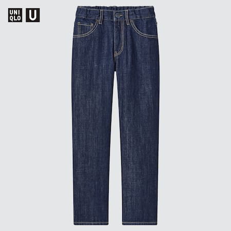 Kids Uniqlo U Regular Fit Jeans