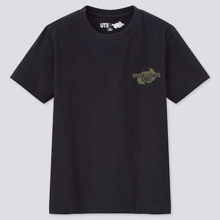 Kids Monster Hunter Rise UT Graphic T-Shirt