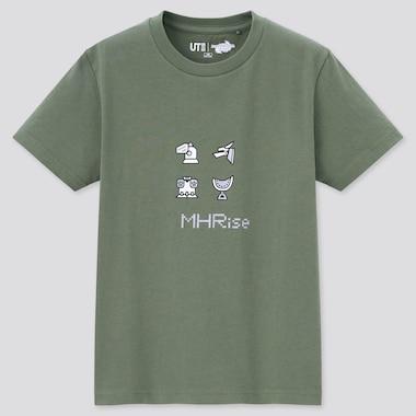 T-Shirt Graphique UT Monster Hunter Rise Enfant