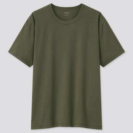 Herren AIRism Baumwoll T-Shirt