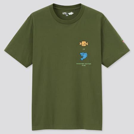 Monster Hunter Rise UT Bedrucktes T-Shirt