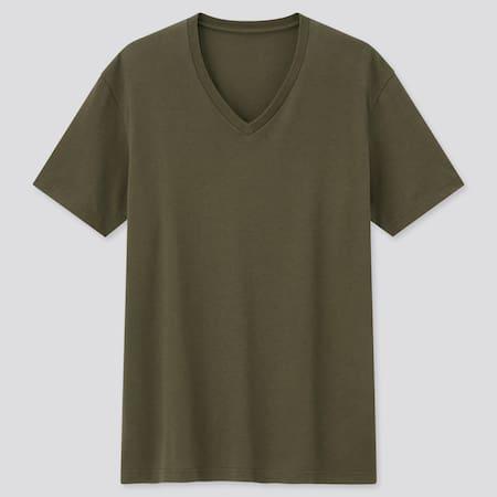 Men DRY V Neck Colour Short Sleeved T-Shirt