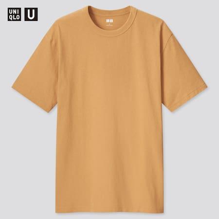T-Shirt Uniqlo U Col Rond Homme