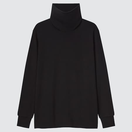 T-Shirt HEATTECH Ultra Chaud Col Roulé Manches Longues Homme