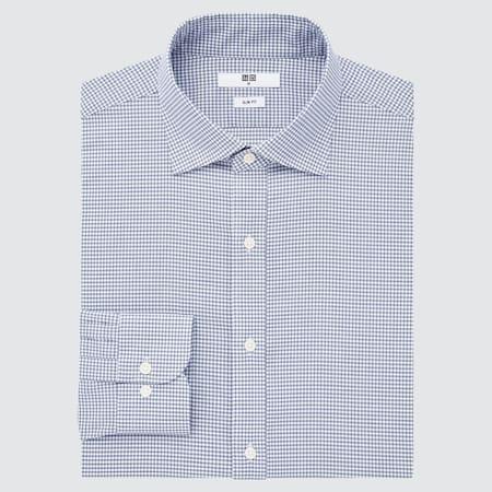 Herren Kariertes Easy Care Hemd mit Stretch (Slim Fit)