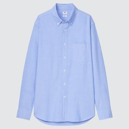 Men Slim Fit Oxford Shirt
