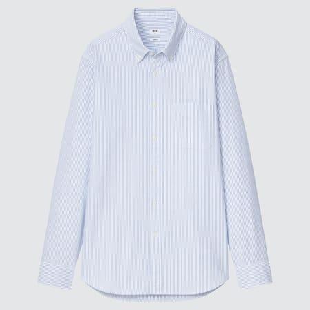 Herren Gestreiftes Oxford Hemd (Slim Fit)