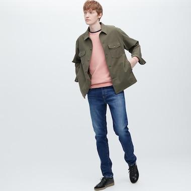 Men Slim-Fit Jeans, Blue, Medium