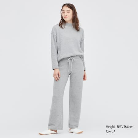 Women Soft Fluffy Trousers