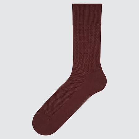 Herren Supima Baumwolle Piqué Socken