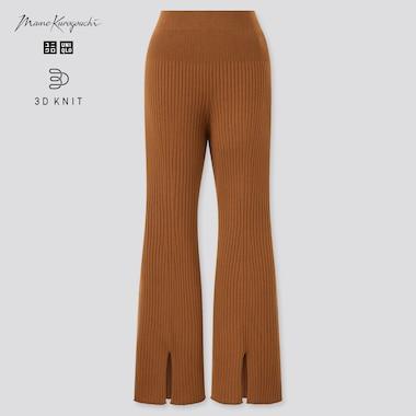 Pantalon Maille 3D Côtelé Fendu Mame Kurogouchi Femme