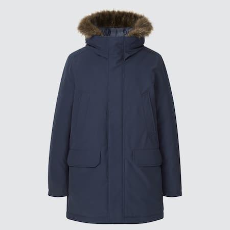 Herren Ultra Warm Hybrid Down Mantel