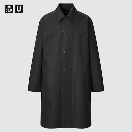 Men Uniqlo U Single Breasted Coat