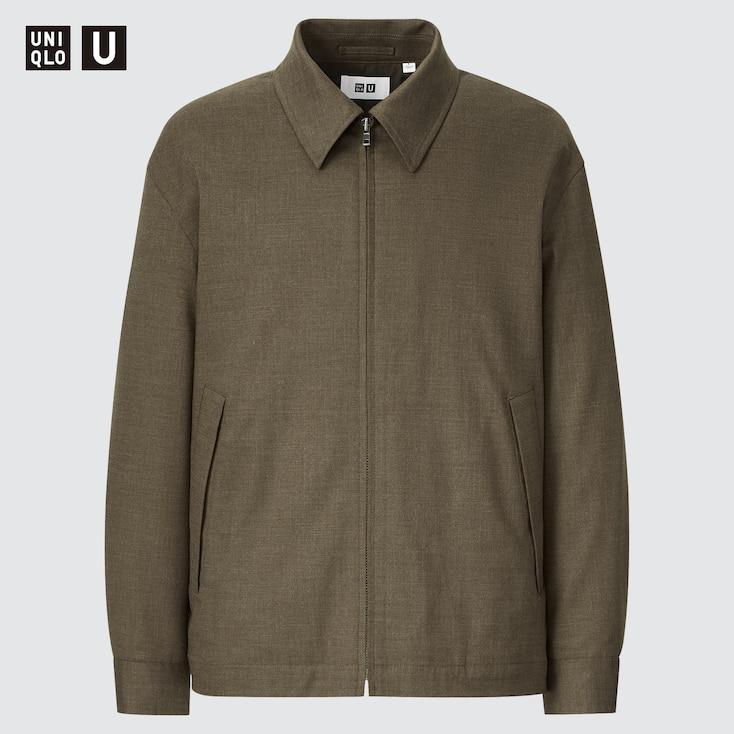 MEN U ZIP-UP BLOUSON