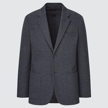 Herren Gemusterte Komfort Jacke