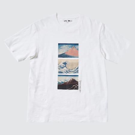 Men Hokusai Fujiyama UT Graphic T-Shirt
