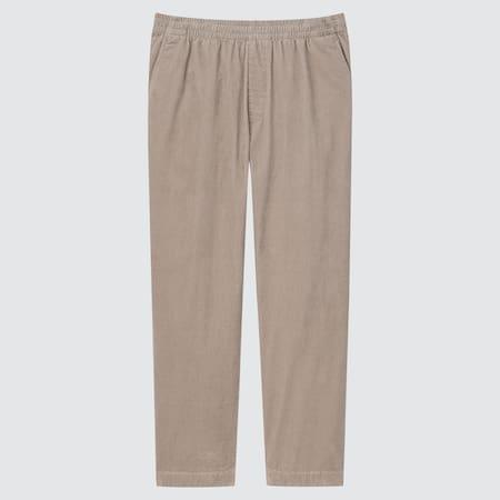 Pantaloni Alla Caviglia Velluto A Coste Relax Uomo