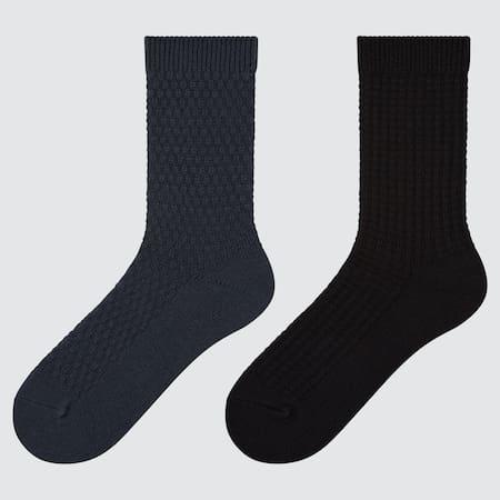 Damen HEATTECH Piqué Socken (2 Paar)
