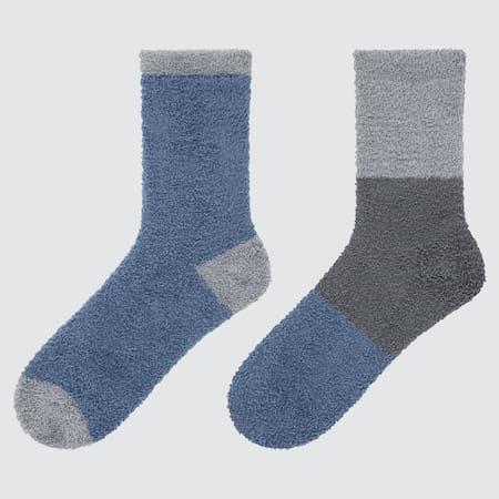 Damen Soft Fluffy HEATTECH Socken (2 Paar)