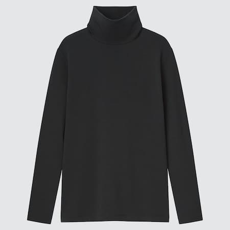 Damen HEATTECH Baumwoll Langarmshirt