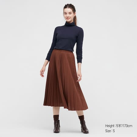 Women HEATTECH Extra Warm Cotton Turtleneck Long Sleeved Top