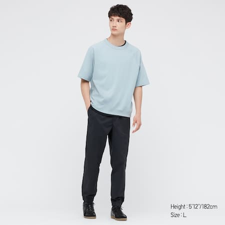MEN Cotton Relaxed Fit Joggers