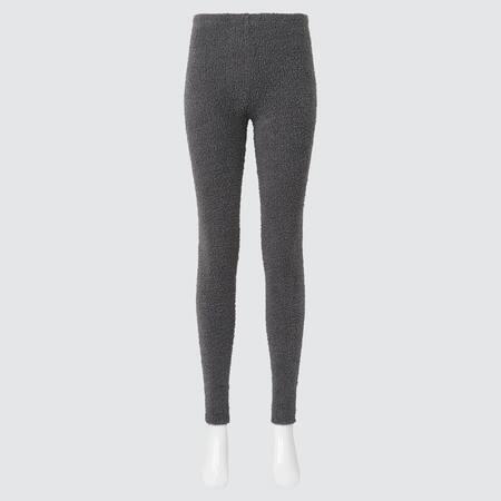 Damen Soft Fluffy HEATTECH Leggings