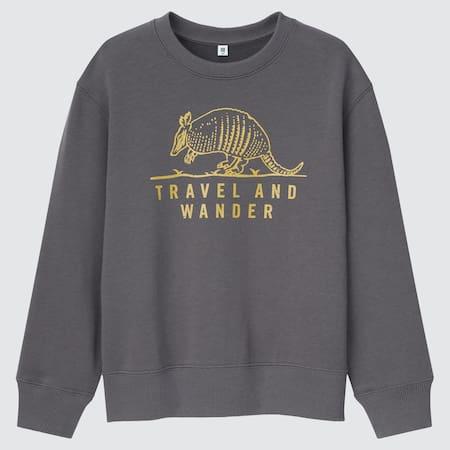 Kids Ultra Stretch Graphic Sweatshirt