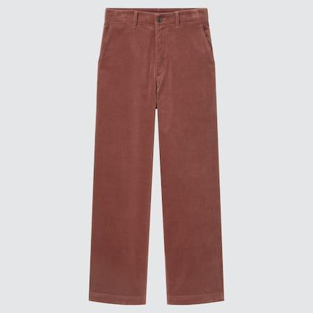 Pantalón Pana Recto Mujer