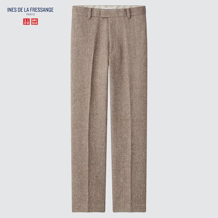 Women Ines de la Fressange Tweed Trousers