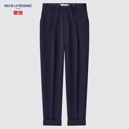 Women Ines de la Fressange Wool Blend Trousers