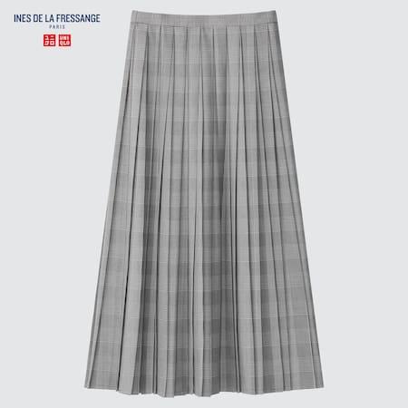 Women Ines de la Fressange Pleated Skirt
