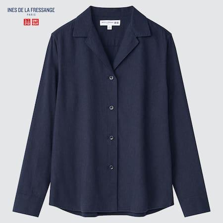 Women Ines de la Fressange Flannel Shirt